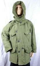 More details for british army middle parka with hood, korea, 1950's,
