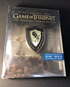 Game of Thrones Complete 4th Season [ STEELBOOK Edition ] (Blu-ray Disc) NEW