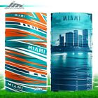 Face Mask Miami Dolphins Football Cover Neck Buff Gaiter Buff