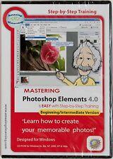 Amazing eLearning Mastering Adobe Photoshop Elements 4.0 training tutorial PC CD