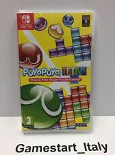 PUYO PUYO TETRIS NINTENDO SWITCH - NUOVO SIGILLATO NEW SEALED PAL VIDEOGIOCO