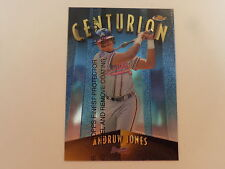 Andruw Jones 1998 Topps Finest Centurion Insert Card #C1- Serial #433/500