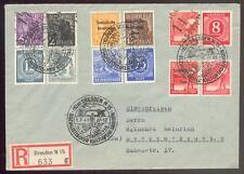 SBZ HANDSTEMPEL 14 DRESDEN 166-168II MIF (D2175b