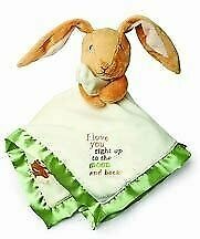 NWT Kids Preferred Guess How Much I Love You Nutbrown Hare Baby Security Blanket