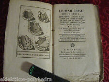 Le Marechal de Poche / W. Burdon / 1789 / Maréchal-ferrant / Hippologie / Cheval