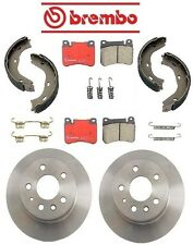 NEW Mercedes W108 250S 1966-1967 Rear Disc Brake Rotors Pads & Shoes Kit Brembo