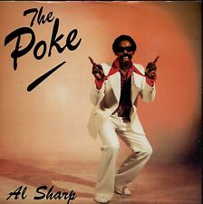 7inch AL SHARP the poke UK 1982 EX+  +PS FUNK