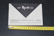 Aermacchi Macchi 125 libretto manutenzione Manuale/Istruzioni/Instructions Book