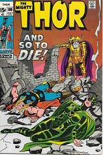 The Mighty Thor Comic Book #190, Marvel Comics 1971 VERY FINE