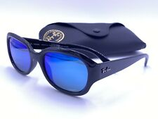 RAY BAN RB4282-CH 601/A1 Polarized Blue Mirror Chromance / Gloss Black AUTHENTIC