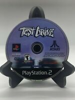 Test Drive PS2 Disc Only Tested Sony Playstation 2 Ps2 Game Good Black Label