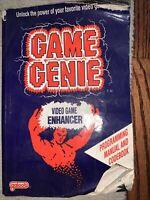 NES NINTENDO Game Genie Video Game Enhancer Programming Manual & Codebook (1991)