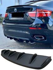 BMW X6 E71 E72 Diffusor heckbumper heckdiffusor spoiler lippe bumper