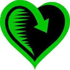 30 Custom Green Love Return Personalized Address Labels