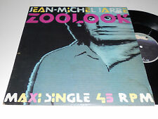 "JEAN-MICHEL JARRE NM-  Zoolook 45 rpm 12"" Maxi single Michael 1984 Dreyfus vinyl"