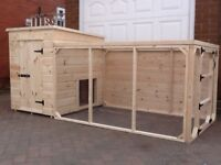 Dog Kennel and Run 7ft X 4ft - Quality item - Could Deliver