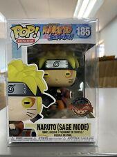 Funko Pop Naruto Shippuden Naruto Sage Mode #185 Special Ed MINT w/ Protector