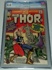 THOR JOURNEY INTO MYSTERY #106 CGC 8.0 OFF WHITE TO WHITE PAGES JULY 1964 (SA)