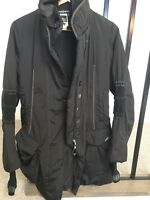 MARITHE FRANCOIS GIRBAUD Women's BLACK Coat Size 44 IT Like New