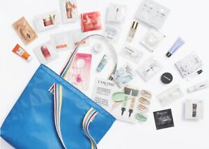 Nordstrom Beauty 26 pcs Samples 2019 GWP YSL Hourglass Becca Coola Tote $123