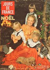 JOURS DE FRANCE N°1302 noel michel serrault dalida johnny hallyday noureev dani
