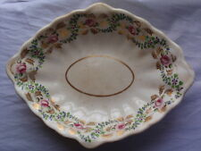 ANTIQUE DERBY PORCELAIN CHINA MAKERS MARK 1800-1825 SERVING BOWL DISH PLATE