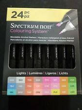 24pc Spectrum Noir Colouring System Markers - Lights