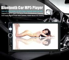"7 "" radio Bluetooth Doble 2 Din En estéreo Dash Reproductor MP5 Pantalla táctil"
