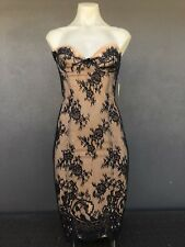 Wheels & Dollbaby Dinner With Him Lace Corset Dress Size 10.$425 NOW $395!
