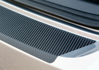 Ladekantenschutz für VW GOLF 7 ab 2017 Schutzfolie Carbon Schwarz 3D 160µm