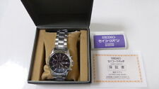 SEIKO Chronograph SND367PC Men's Watch from Japan New in Box