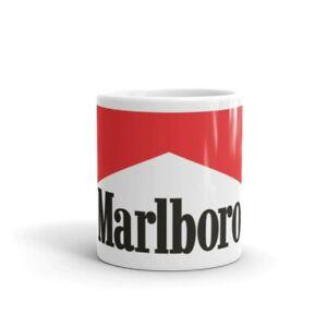 Marlboro cigarettes tobacco ceramic 11oz coffee mug gift 134212