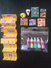 Zuru 5 Surprise Mini Brands Series 2 + other assorted mini foods lot