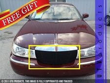 GTG 1998 - 2002 Lincoln Town Car 1PC Gloss Black Replacement Billet Grille Grill