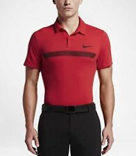 Nike Golf Fly Kugel Graphic Herren Poloshirt University Red-M - 802834 657