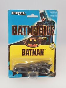 Vintage 1989 Batman Diecast Batmobile ERTL