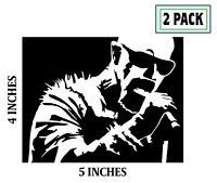 2 PACK ROB HALFORD Stickers Vinyl Decal Judas Priest Black Sabbath Krokus