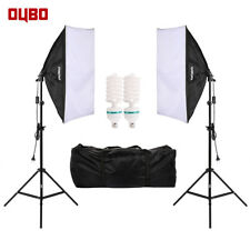 OUBO Softbox Studioleuchte Fotostudio Studiolampe Fotolampe Set Tageslicht