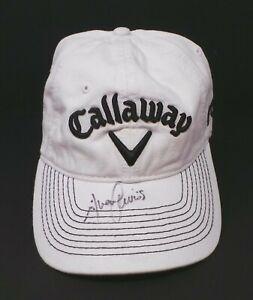 Alvaro QUIROS Signed Autograph on Calloway Golf Cap Autograph AFTAL RD COA