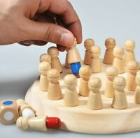 18*5*18cm Wooden Memory Match Stick Chess Game Kids Puzzle Educational Toys