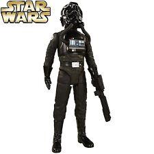 Deluxe Imperial Tie Fighter Pilot 1:4 Replica Star Wars Statue / Figur Big-Sized