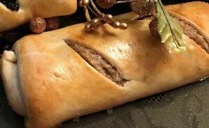 Large Walnut Kolache (Homemade Hungarian Walnut Roll)