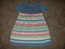 Gymboree Kids Girls Fairy Wishes Striped Sweater Dress Size 5 5T Fall Winter