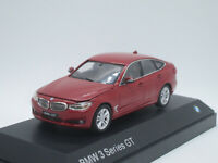 BMW 3 Series GT F34 Gran Turismo Specs 2014 red 1/43 Dealer Box