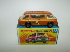 Matchbox Superfast No 22 Freeman Intercity Commuter Gold NMIB HTF