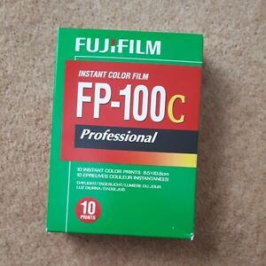 Fujifilm Fp100c colour Film. expired 2012 . 1 box/10 exposures Peel apart