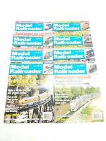 Model Railroader Magazine 2003 -Lot Of 8-