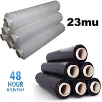 HEAVY DUTY CLEAR PALLET WRAP SHRINK WRAP CAST STRETCH FILM 500MM  23MU