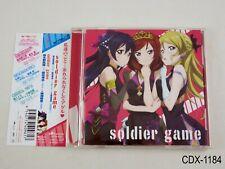 Love Live - Soldier game CD Single 2012 Umi Maki Eli Japanese Import US Seller