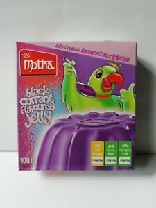 Motha Jelly Black Currant Flavoured Jelly Crystals Sri Lankan Product 100g